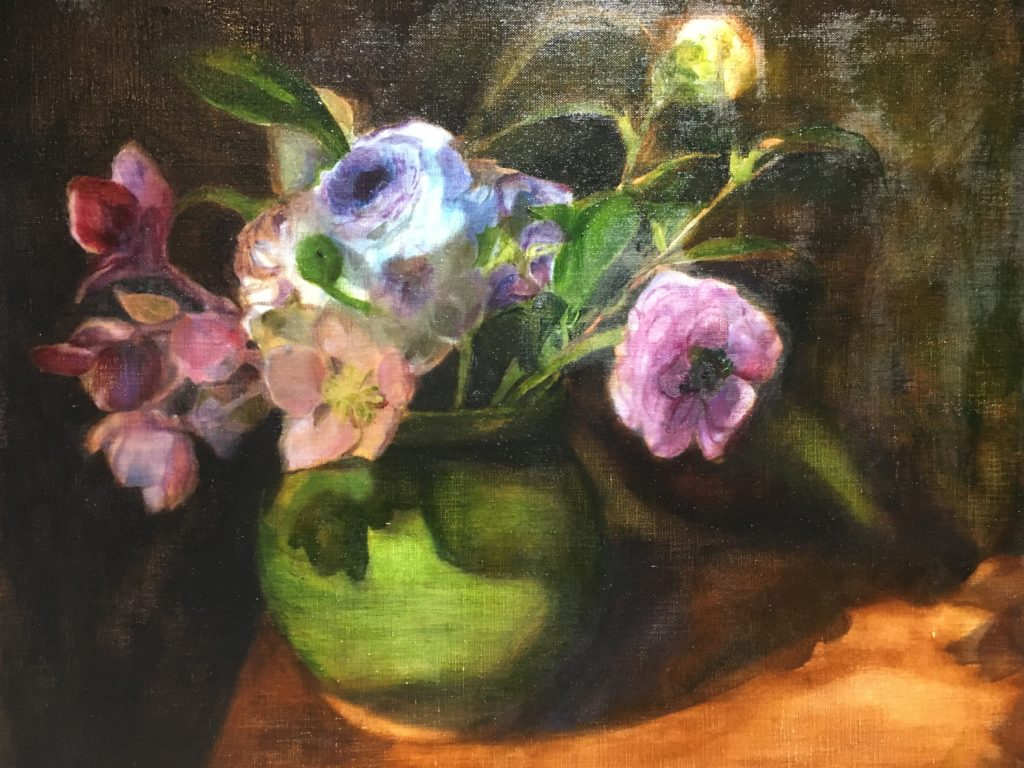 floral still life by Betsy Chang
