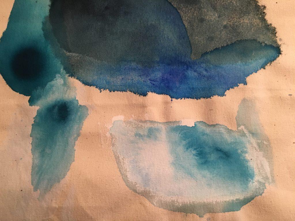 Acrylic test on canvas